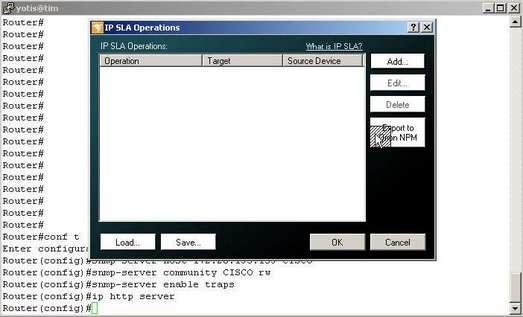 IP SLA monitor tool