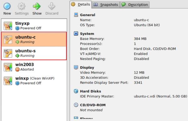 VirtualBox + GNS3 Step 3