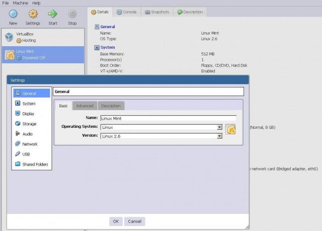 Manage VirtualBox over Web Interface | IPNET