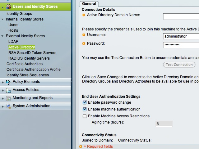 ACS Active Directory