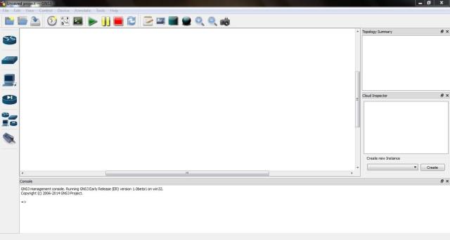 GNS3 1.0 Beta 1